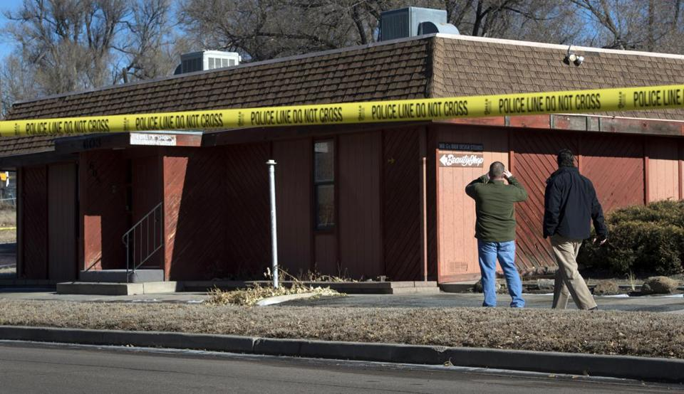 An explosive device detonated Tuesday at a building in Colorado Springs that houses the offices of the local chapter of the NAACP.