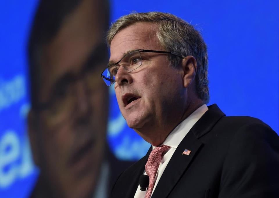 Jeb Bush appears to have learned from some of the mistakes of Mitt Romney's 2012 presidential campaign.