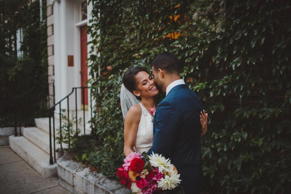 Harvard med school students Laura and Nathan Scott transformed The Sinclair restaurant in Harvard Square into a dreamy wedding spot.