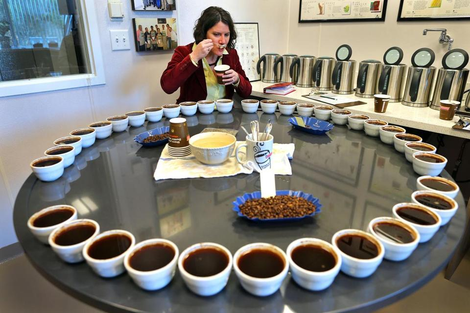 The goal for Hélène Marsot is to ensure that millions of cups of coffee that Dunkin' Donuts serves each day taste the same as their counterparts in each category.