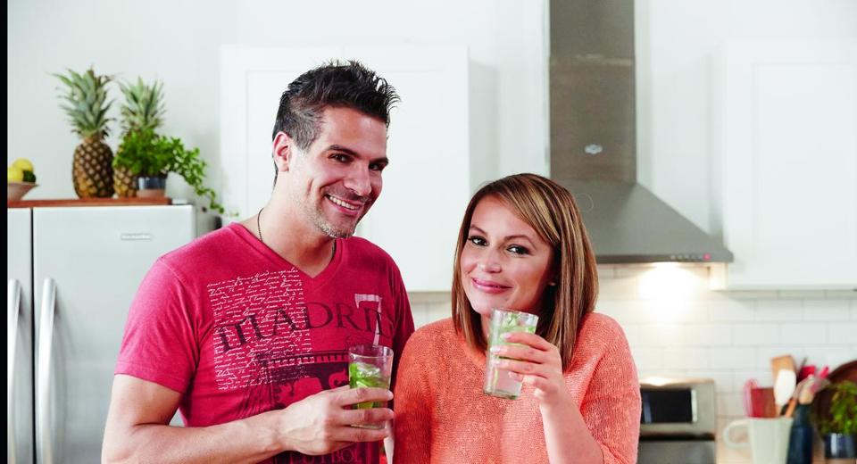 """Top Chef"" alum Angelo Sosa and New York radio host Angie Martinez co-wrote the ""Healthy Latin Eating"" cookbook."