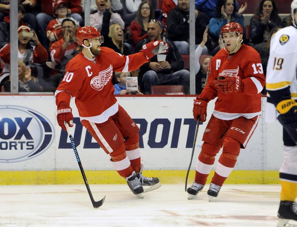 Red Wings Forward Henrik