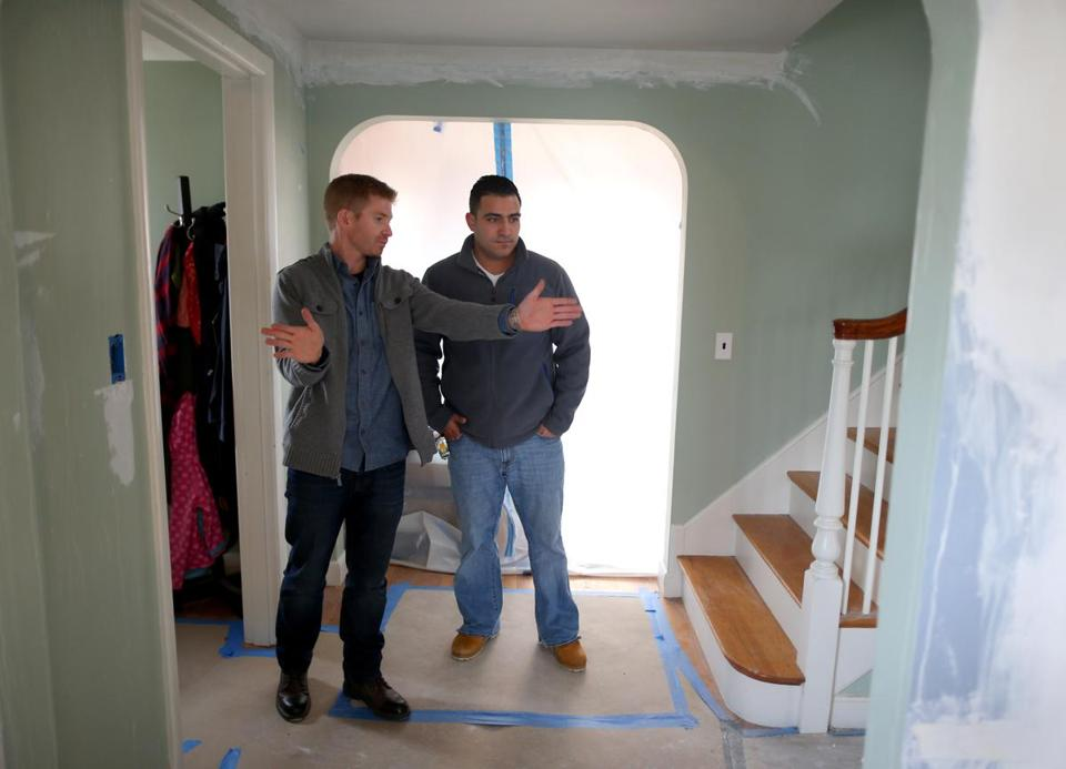 Ben O'Sullivan-Pierce, owner of Fresh Start Construction in Belmont, said winter is usually a slow period, but now he has several home remodeling projects.