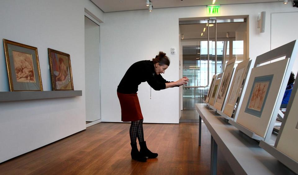 Professor Ewa Lajer-Burcharth did not need her university role  to utilize the Art Study Center at the Harvard Art Museums.