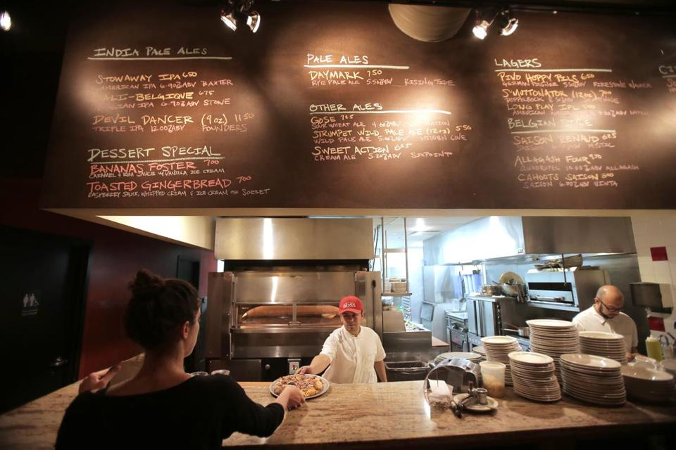 Boston, MA - 01/20/15 - An order goes out at Picco on Tremont Street in the South End. Lane Turner/Globe Staff Section: MAG Reporter: francis storrs Slug: 020815BestPizza
