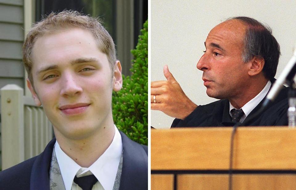 Judge Mark Coven (right) will preside over the inquest into the death of patient Joshua K. Messier (right), who a Globe report found was manhandled by attendants at Bridgewater State Hospital in 2009.