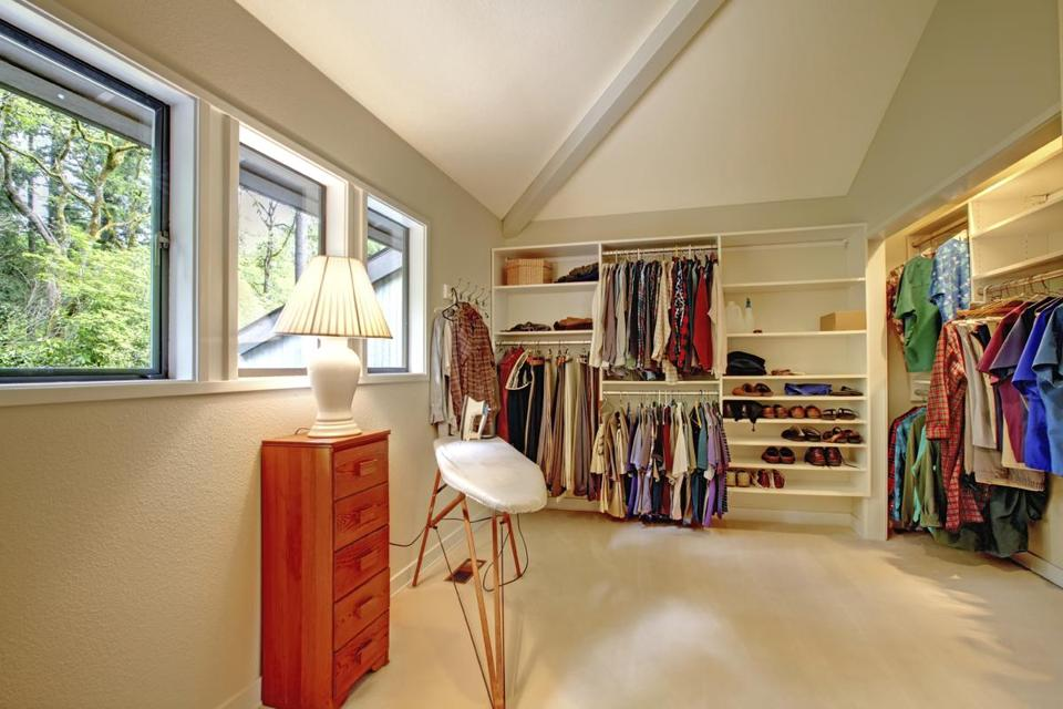 A Walk In Closet, Such As This One (not Designed By Chris Chu