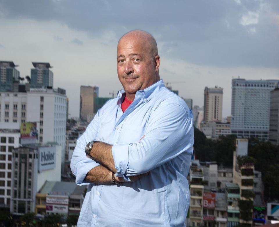 04qanda - Andrew Zimmern, Host, Bizarre Foods: Delicious Destinations. (Travel Channel)