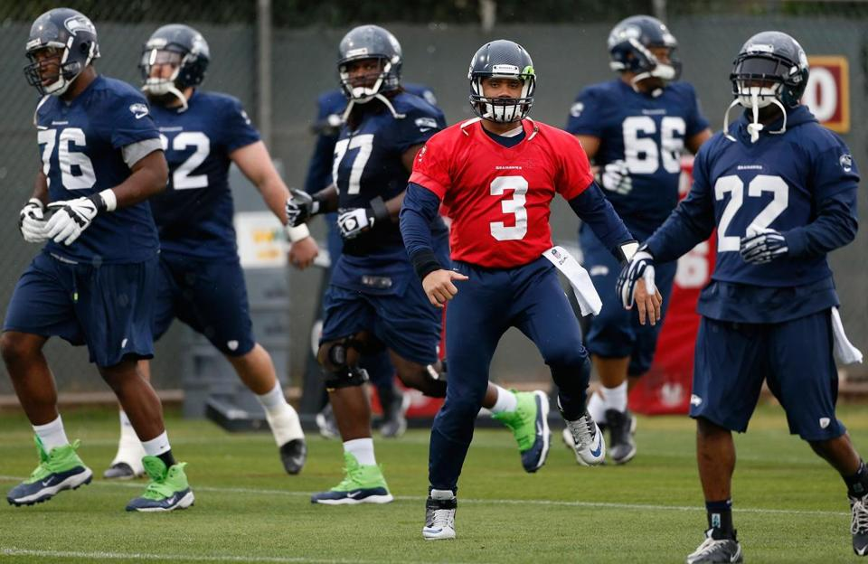 Quarterback Russell Wilson has been working with a mental conditioning consultant since 2012.