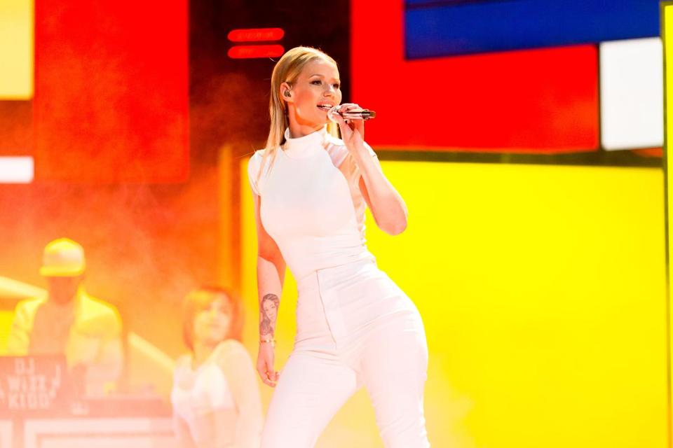 Iggy Azalea performed during the People's Choice Awards last month.
