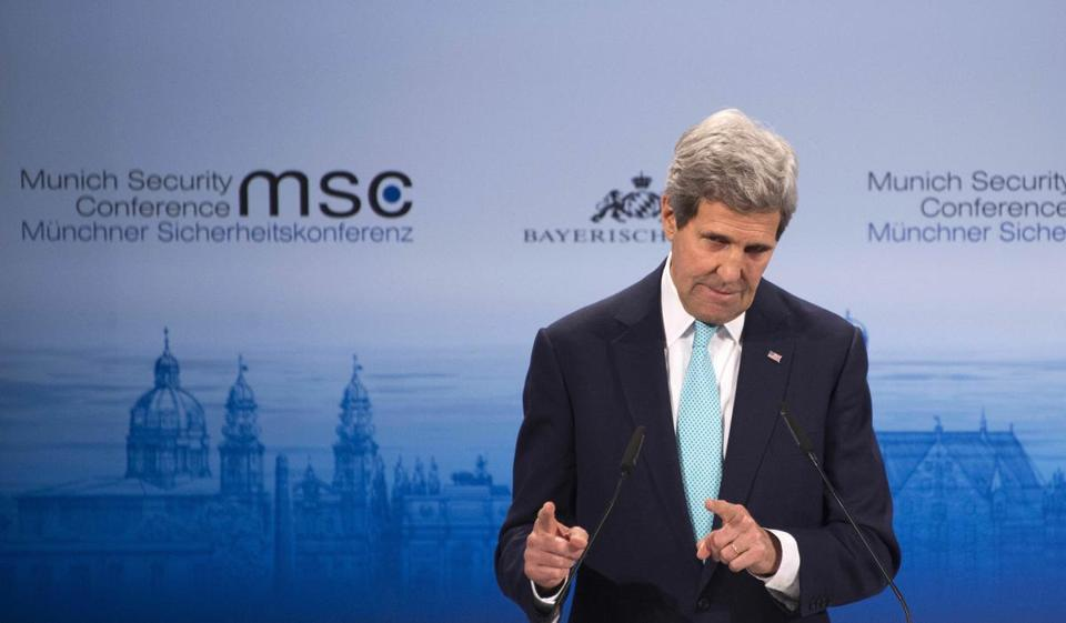 Secretary of State John Kerry delivered remarks at the 51st Munich Security Conference.