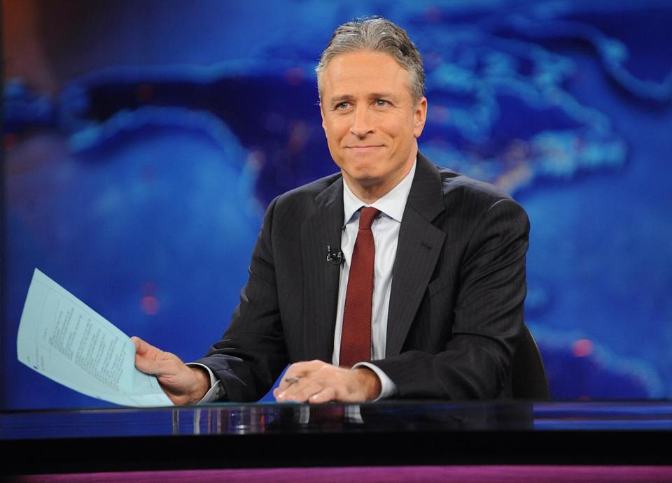 "Jon Stewart said he would step down as host of ""The Daily Show"" later this year."