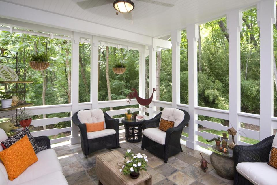 Will A Screen Porch Block Light In Adjacent Rooms Is Teak Good Alternative To