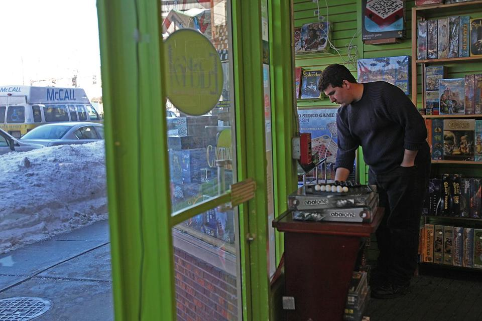 The Eureka! puzzle store in Brookline is among the many businesses feeling the pinch.