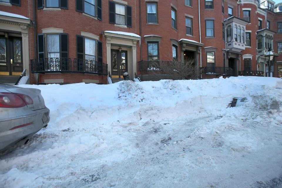 A South End man found his tires had been slashed this week after parking in a shoveled spot.