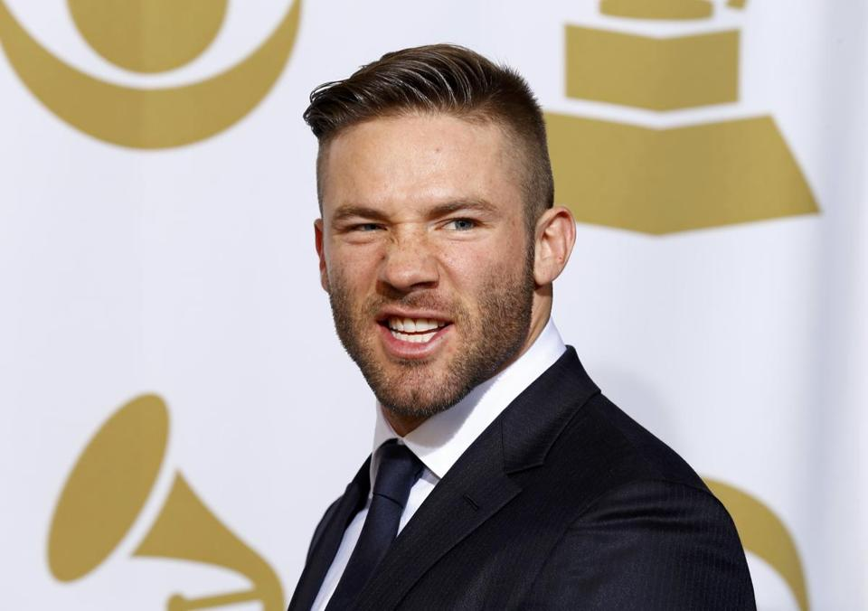 Julian Edelman was invited to be a presenter at the Grammy Awards a week ago.