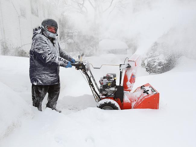 Snow Blower Pilots Keep Up With The Storms The Boston Globe