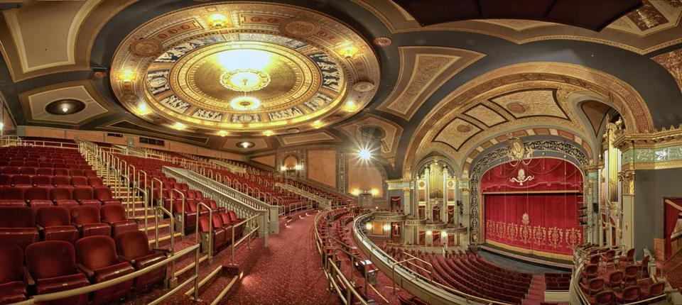 08tank - Waterbury's Palace Theater has been restored to its original (c. 1922) splendor. (handout)