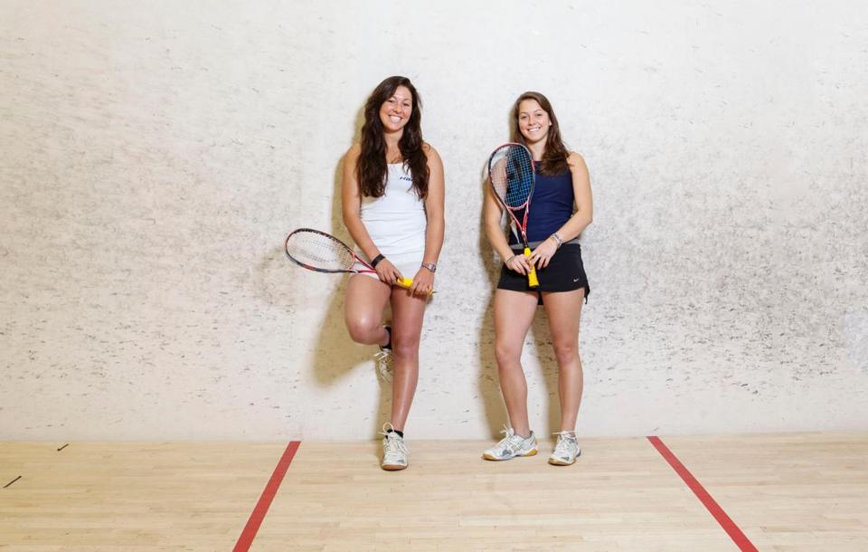 Amanda Sobhy, 21, and her 18-year-old-sister, Sabrina, might have what it takes to popularize squash in the United States. // photo by Elizabeth Lippman