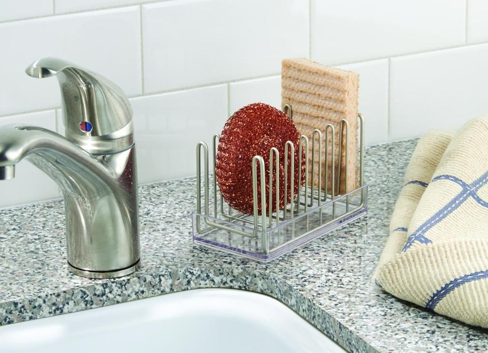 sponge holder dihizb for ideas best amazing caddy pics and sink tfile organizer set kitchen trends of