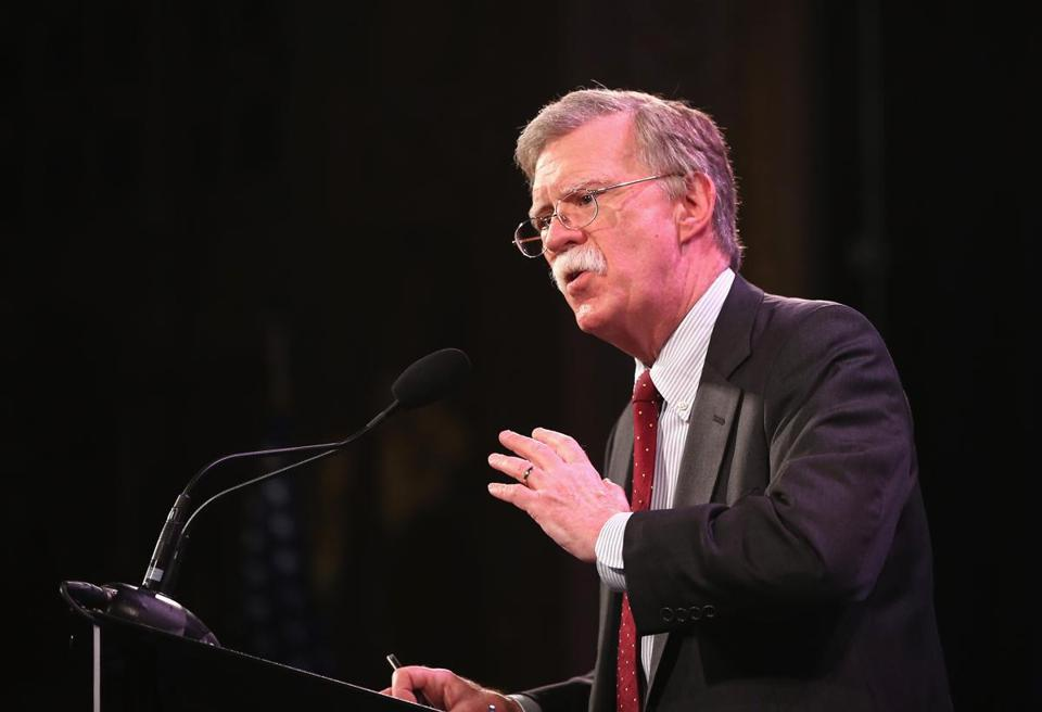 John Bolton said he wants to make foreign policy a bigger topic in the 2016 presidential campaign, particularly among Republicans.