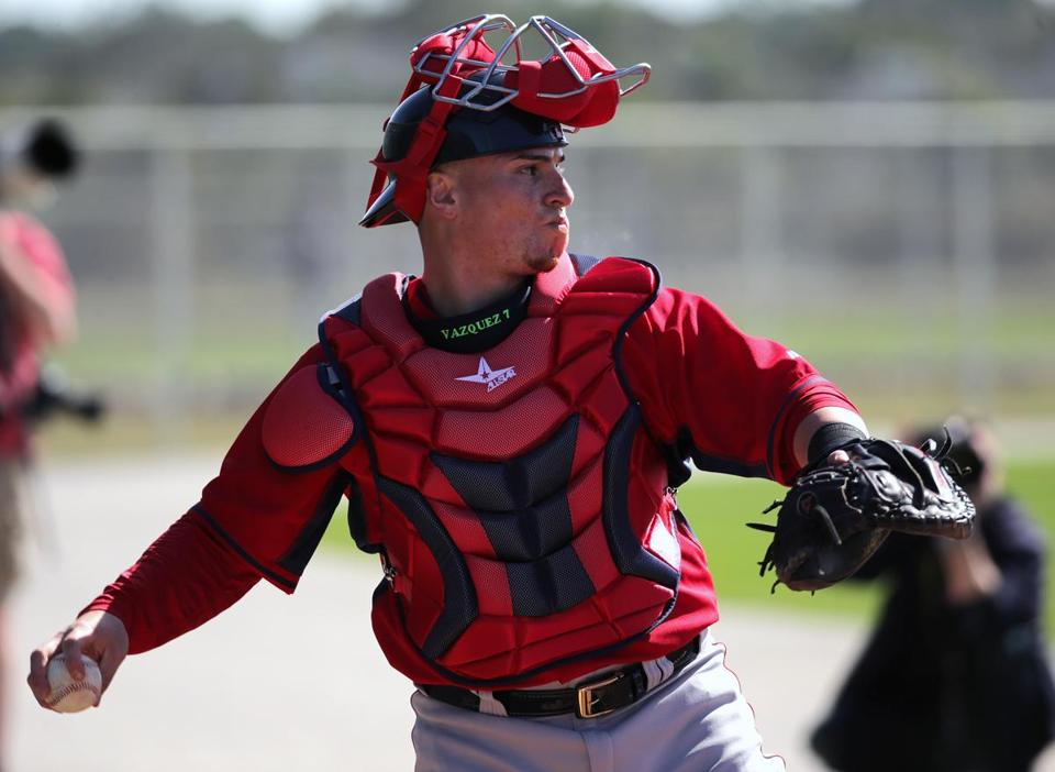 Will Christian Vazquez still have his explosive arm after Tommy John surgery?