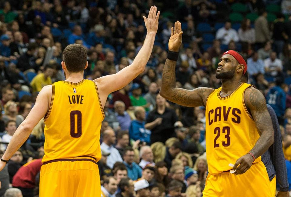 Kevin Love, LeBron James and the Cavaliers have overcome early-season hiccups.