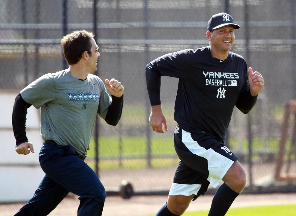 Alex Rodriguez reports to Yankees three days early - The Boston Globe 1dd6a6807d5