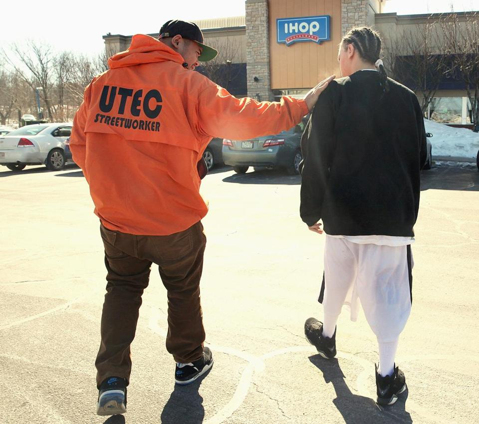 Chheng and Garcia headed for IHOP in Tewksbury, the first stop after he was released.