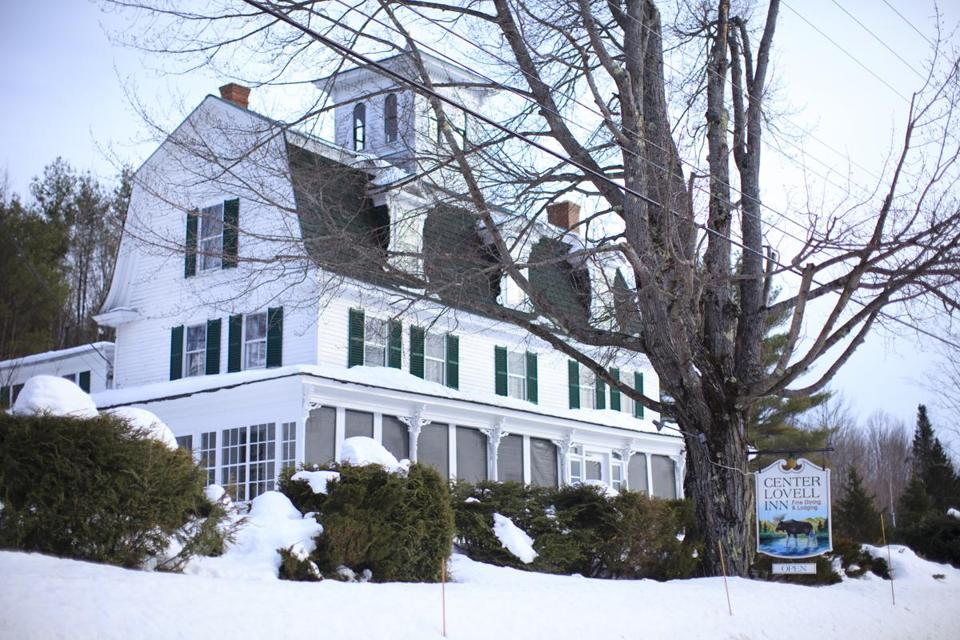 An essay contest was held to collect the keys to the Center Lovell Inn, a classic New England hostelry and restaurant with a view of Mount Washington.