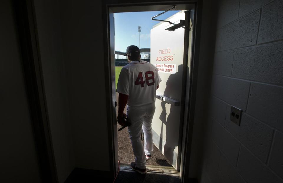 Fort Myers Fl-March 1 2015--Globe Staff photo by Stan & Behind the scenes at Red Sox spring training - Pictures - The Boston ...