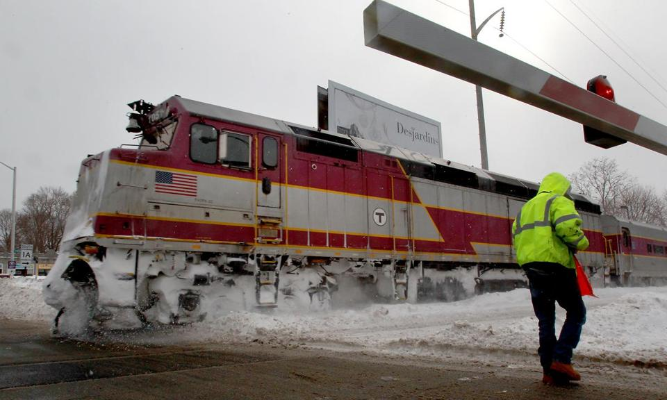 Keolis's goal for full restoration of the commuter rail remains March 30.