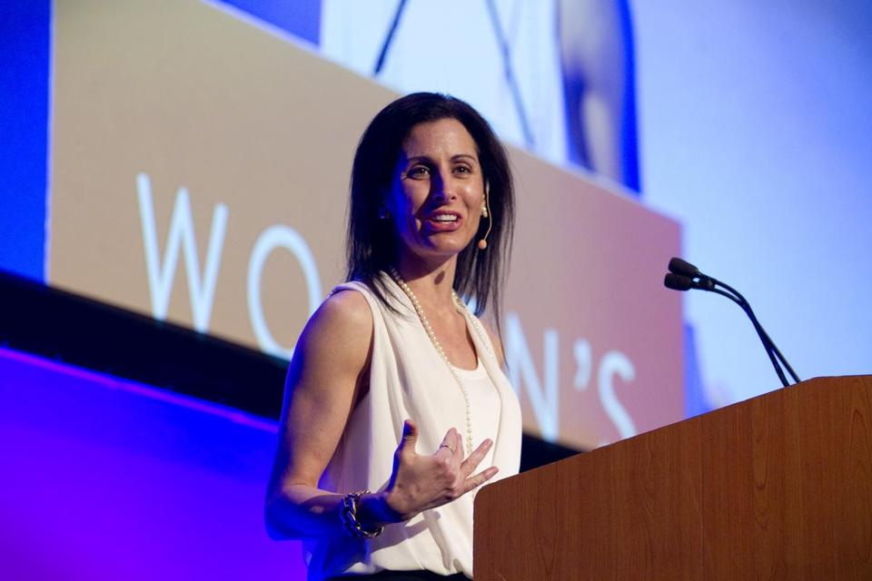 Author Lisa Genova delivered the keynote address to the Ad Club's 2015 Women's Leadership Forum.
