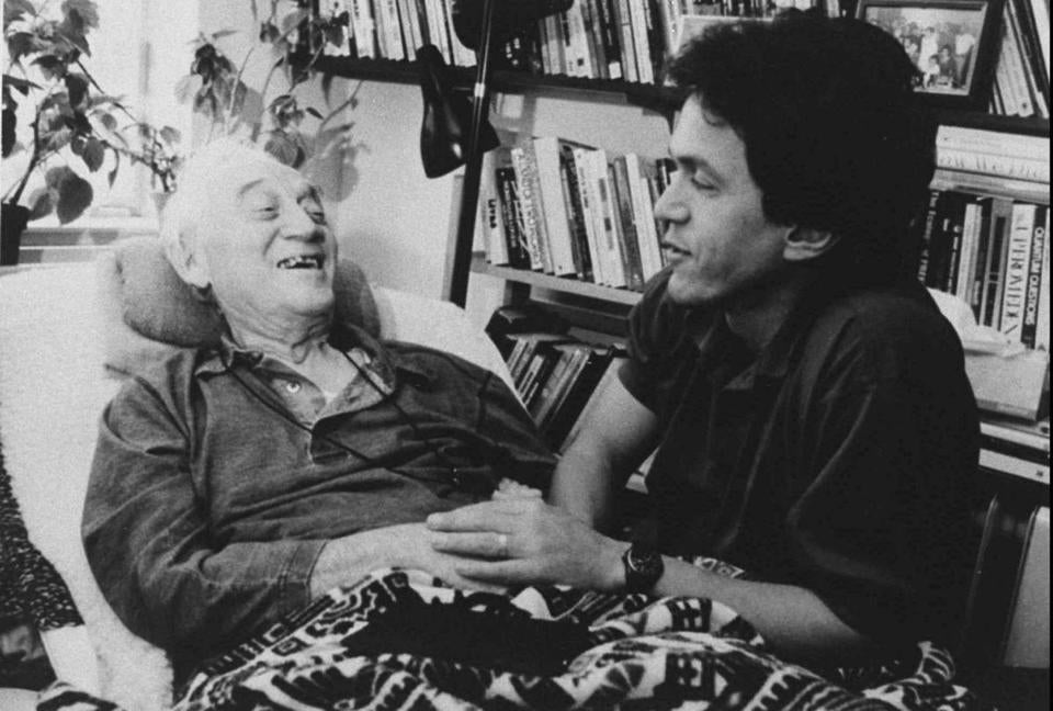 nearly years after his death morrie schwartz lives on the  mitch albom morrie schwartz in 1995