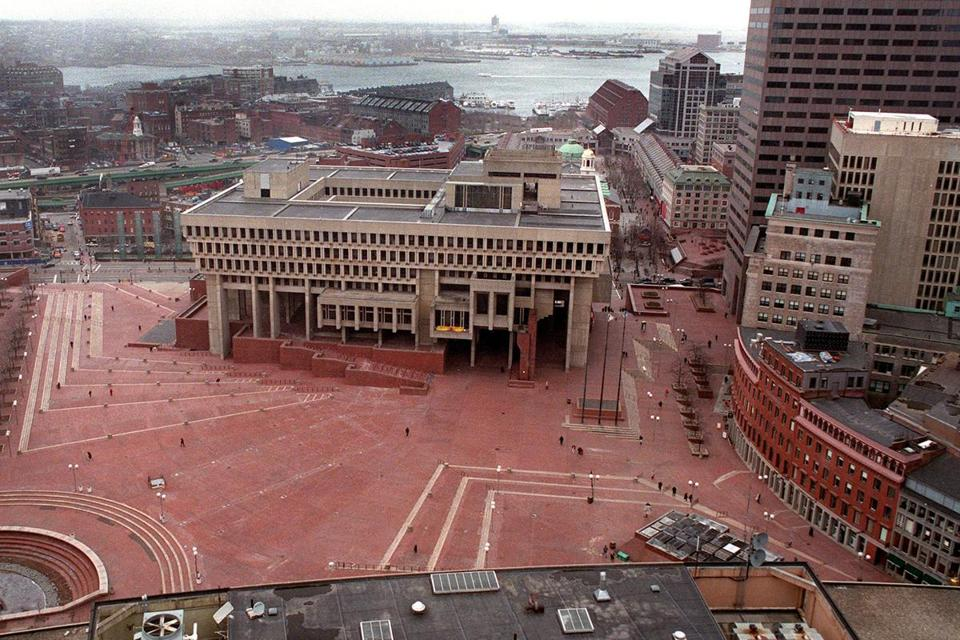 City Seeking Ideas To Repurpose Brick Bound Hall Plaza
