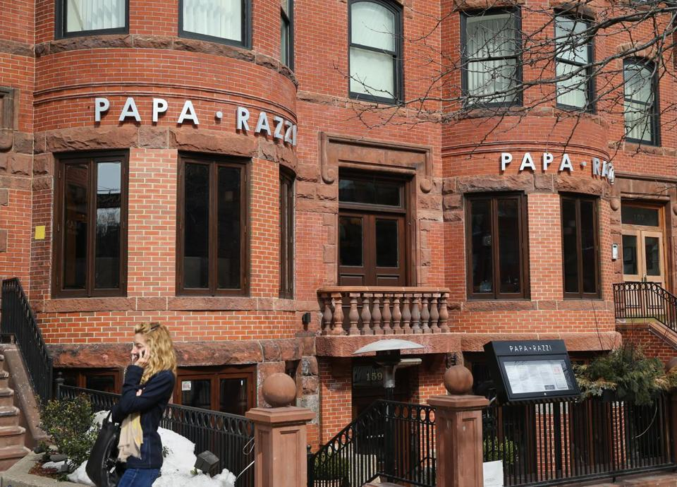 Papa Razzi S Newbury Street Location Is One Of Six Around The Boston Area