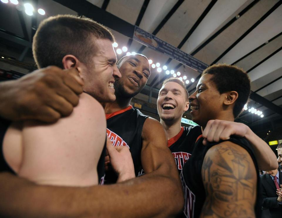 Northeastern punches ticket to NCAA tourney by winning CAA title ...