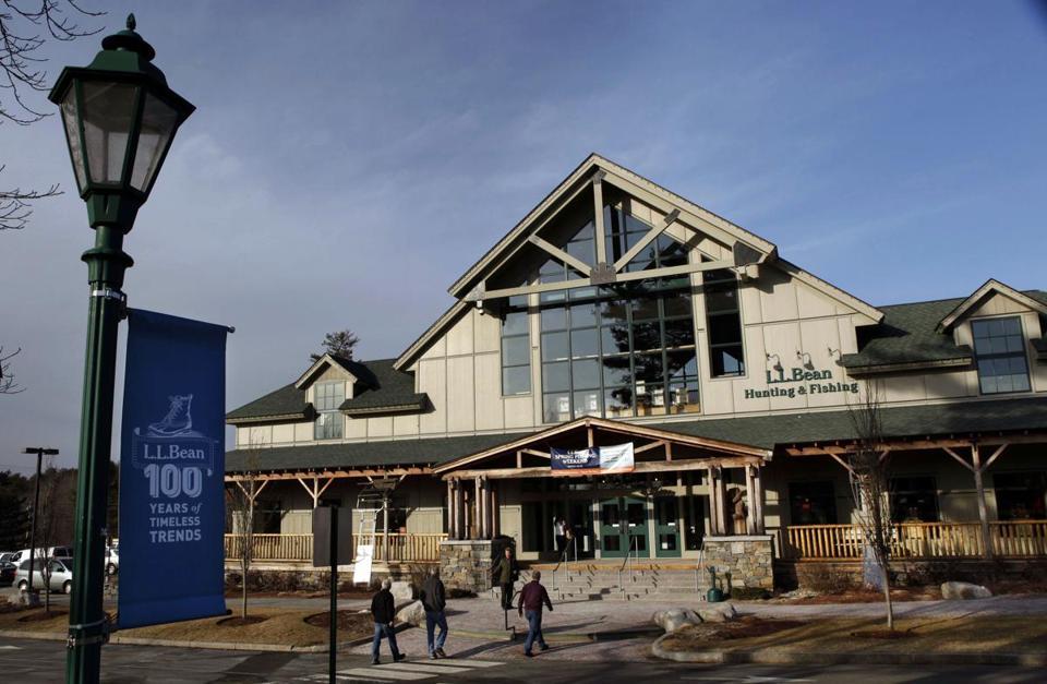 L L Bean Plans To Triple Its Stores The Boston Globe