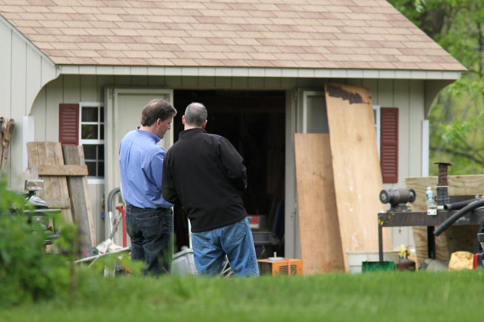 The FBI visited the home of Robert Gentile in 2012.