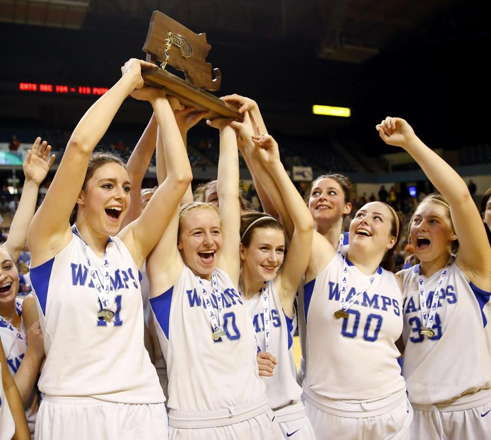 The Braintree girls' basketball team successfully defended its Division 1 state title this season.