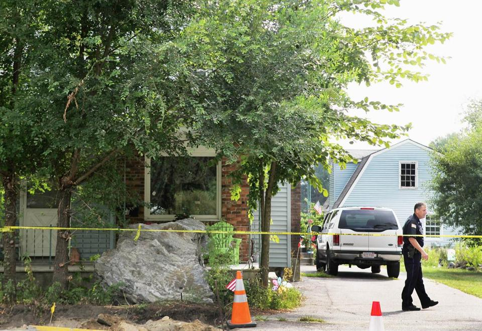 Police investigated the previous home of Judith Ann Chartier in 2012.