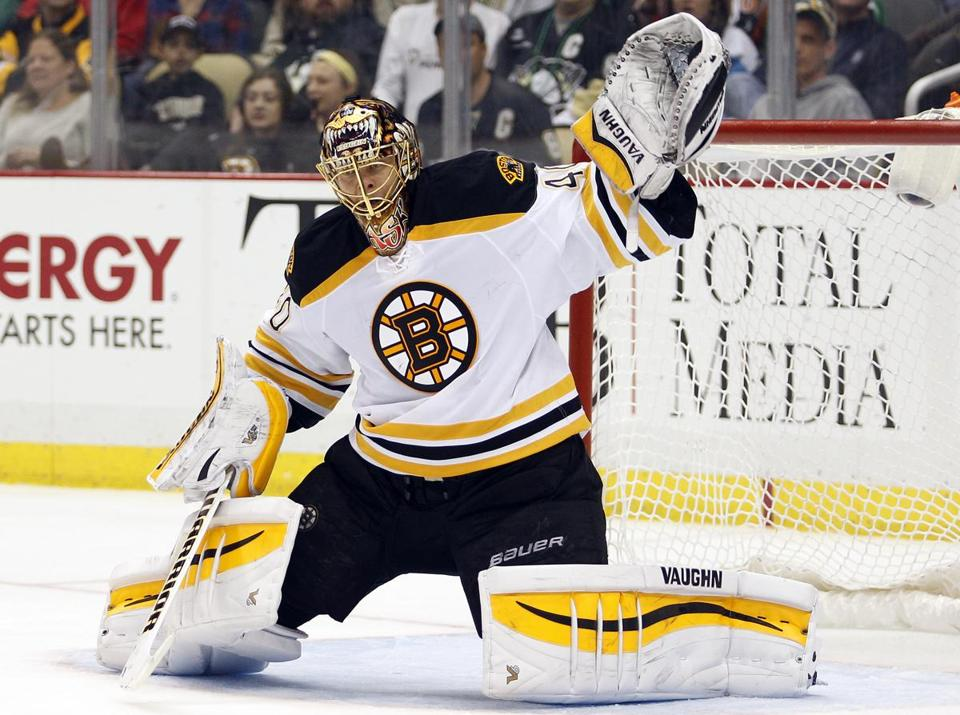 Tuukka Rask sat out against the Sabres Tuesday. But despite the goalie's high save percentage, the Bruins haven't been able to score consistently.