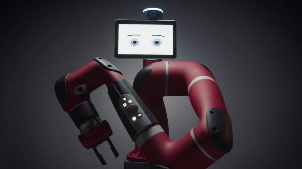 Sawyer was a high-performance manufacturing robot from Rethink, a company hit by tougher foreign-investor rules.