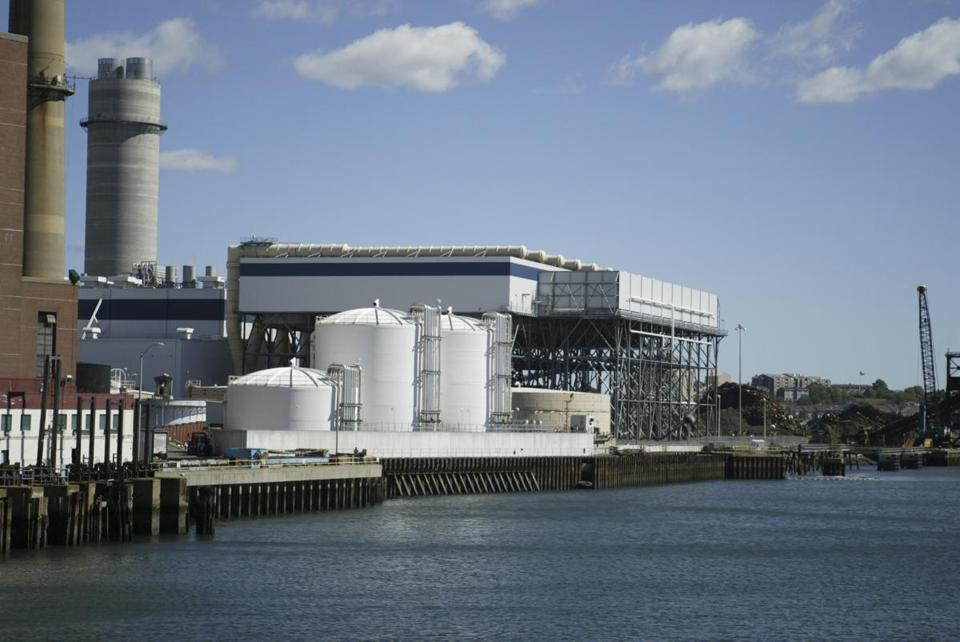 The Everett LNG terminal facility.