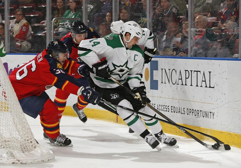 Jamie Benn made Dallas's varsity out of training camp in 2009.