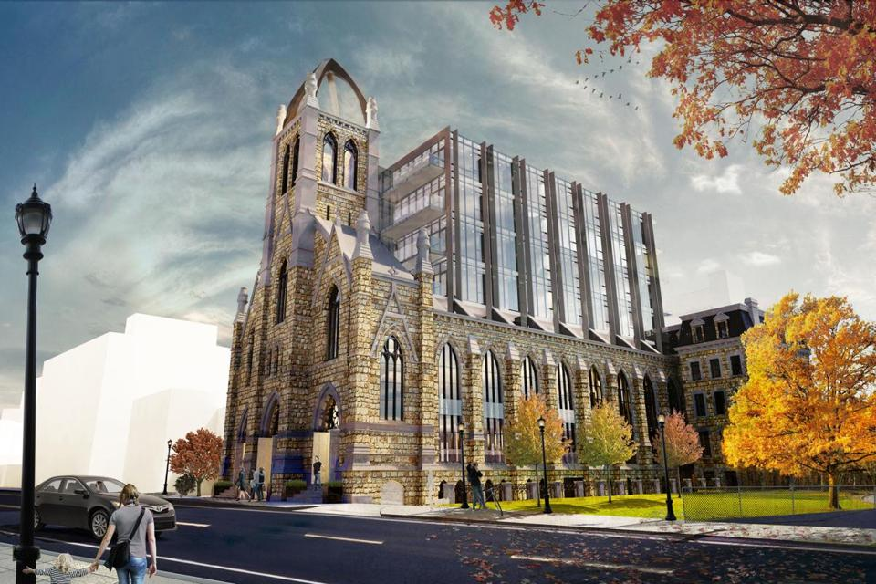 Eyepopping Design Unveiled For Condos In Former South End Church - Boston south end apartments