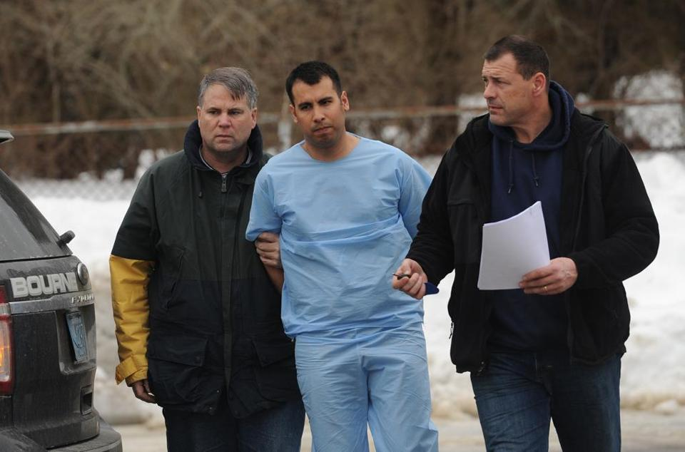 Adrian Loya pleaded not guilty in Falmouth District Court last month to murder