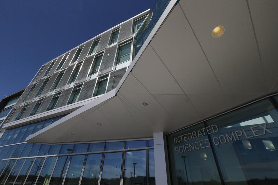 The UMass Boston Integrated Sciences Center.