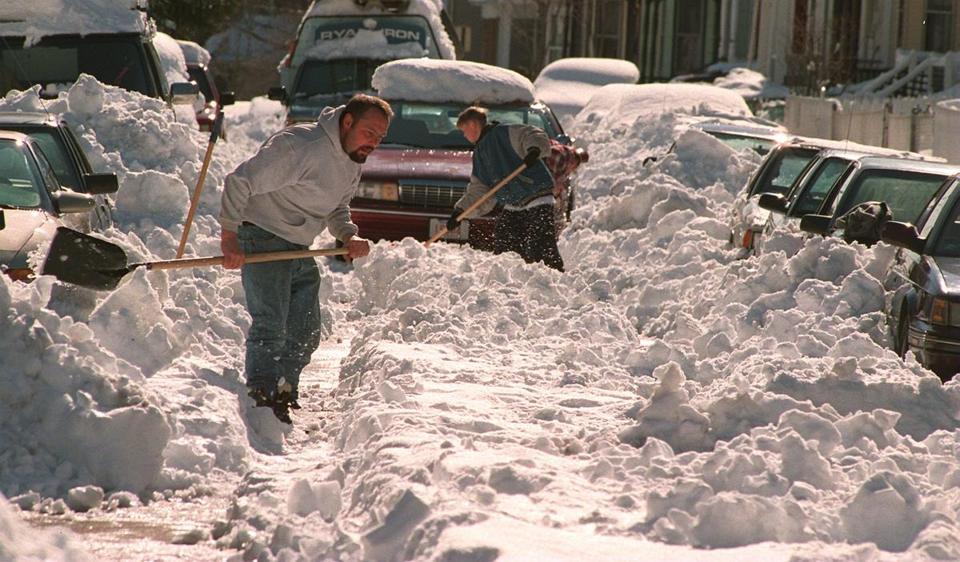 April Fools Day Blizzard Of 1997 Was No Joke The Boston Globe