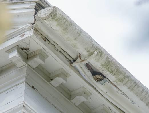 Squirrels have caused severe damage to the two-century-old Derby Summer House in Danvers.